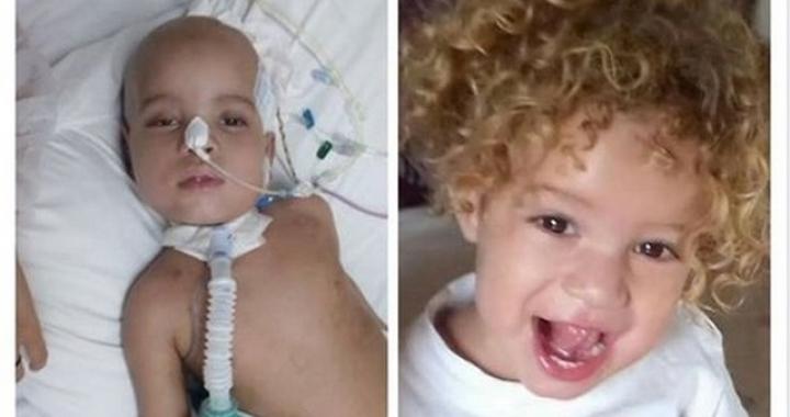 Família de MT luta para que menino de 2 anos com tumor no cérebro possa fazer tratamento em SP