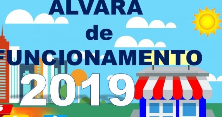 Contribuintes já podem retirar o Alvará de Funcionamento/2019 na Prefeitura de Juara.