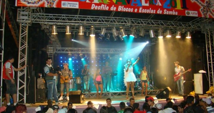 Cultura abre concurso de blocos, rainha e rei momo do carnaval de rua Juína folia 2019