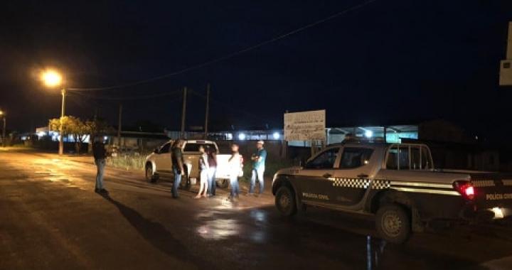 Polícia Civil prende três motoristas por embriaguez ao volante na manhã deste domingo em Juína