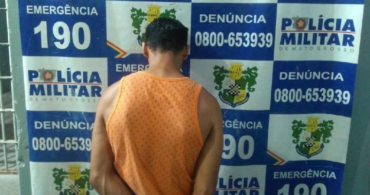 Homem é preso em flagrante suspeito de manter mulher e quatro filhos em cárcere privado em MT