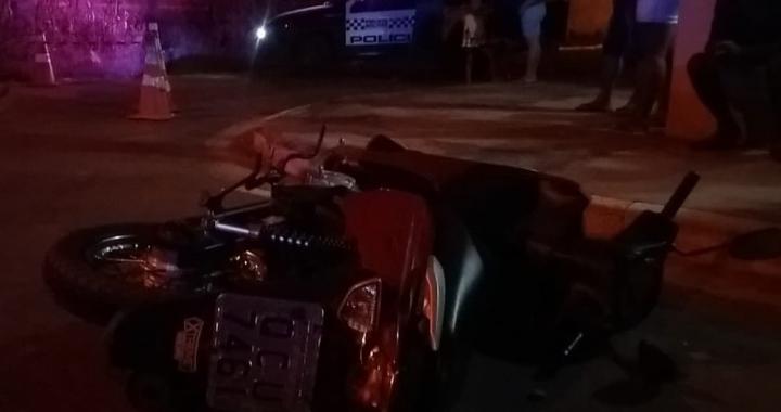 Motociclista supostamente invade preferencial e morre ao colidir com ônibus em MT