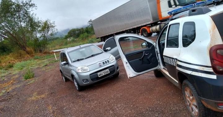 Polícia recupera 12 dos 16 automóveis furtados por quadrilha que invadiu garagem em MT