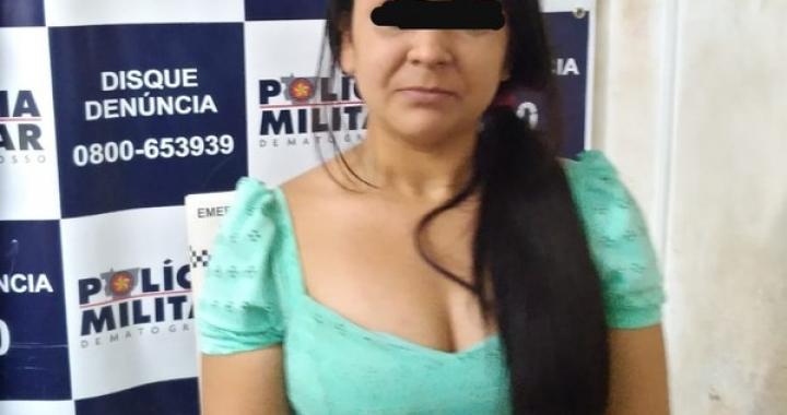 Mulher é presa suspeita de se recusar a pagar conta e agredir garçom em restaurante de Cuiabá