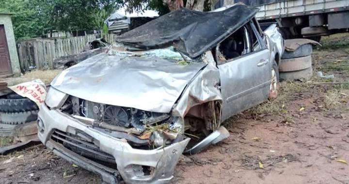 Família se envolve em acidente no Pará e é levada de avião a hospital de Sorriso