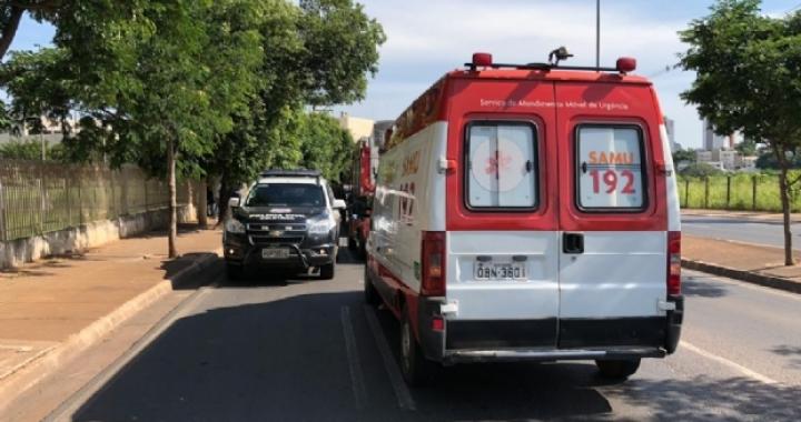 Ladrão é baleado pela Polícia Militar após roubar celular em bairro nobre de Cuiabá