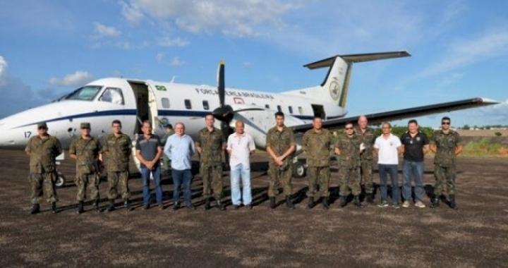 Aeroporto de Matupá recebe visita técnica do COMARA/FAB