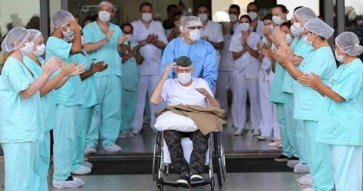 Quase 30% dos pacientes que contraíram coronavírus estão recuperados em MT