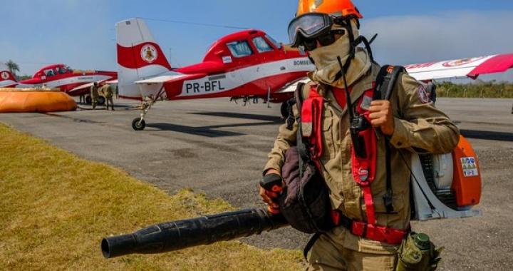 MT contará com 8 aeronaves para combate aos incêndios florestais