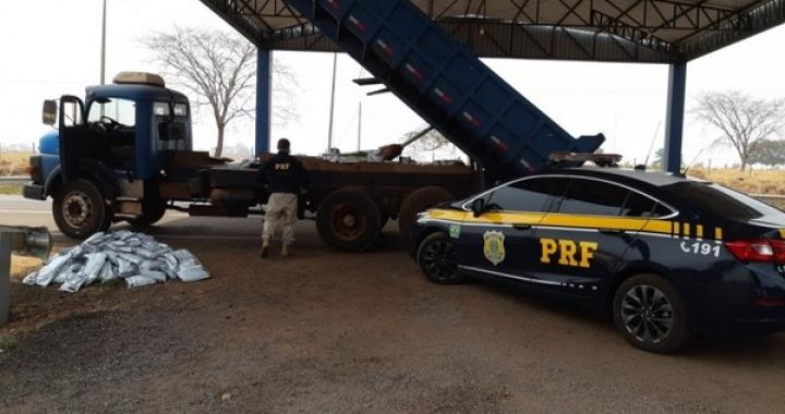 Motorista é preso com mais de 800 kg de agrotóxico contrabandeado em rodovia de MT