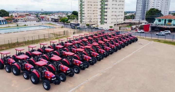 Estado entrega maquinários para agricultura familiar de Juara e para mais 81 municípios.