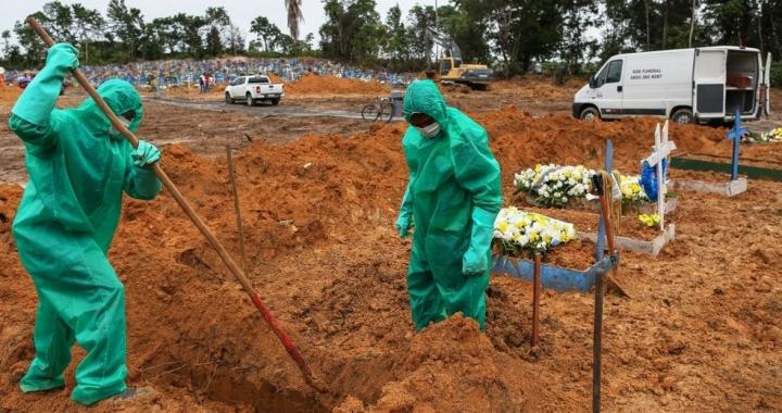 MT registra 63 mortes por Covid-19 no feriado de Tiradentes
