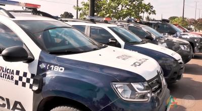 O 15º Comando Regional da Polícia Militar passou por treinamento após receber novos armamentos.