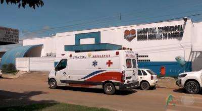 Um grave acidente foi registrado no bairro Cidade Nova em Guarantã do Norte.