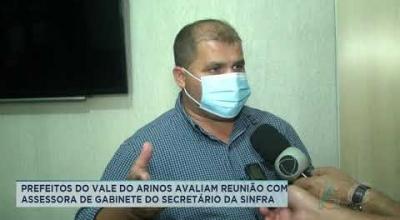 PREFEITOS DO VALE DO ARINOS AVALIAM REUNIÃO COM ASSESSORA DE GABINETE DO SECRETÁRIO DA SINFRA