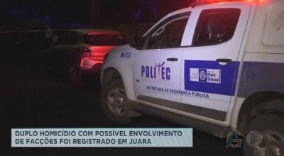 DUPLO HOMICÍDIO COM POSSÍVEL ENVOLVIMENTO DE FACÇÕES FOI REGISTRADO EM JUARA