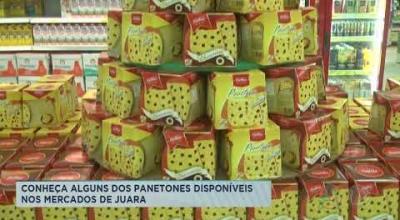 CONHEÇA ALGUNS DOS PANETONES DISPONÍVEIS NOS MERCADOS DE JUARA