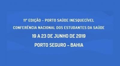 FACULDADE AJES IRÁ PARTICIPAR DA 11ª CONFERÊNCIA NACIONAL DOS ESTUDANTES DA SAÚDE EM PORTO SEGURO NA BAHIA