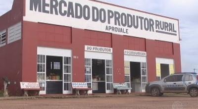 COMERCIANTES ESTÃO DESANIMADOS COM POUCO MOVIMENTO NO MERCADO DO PRODUTOR RURAL DE JUARA