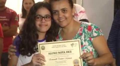 Projeto 'ALUNO NOTA DEZ' envolveu todas as escolas de Juara