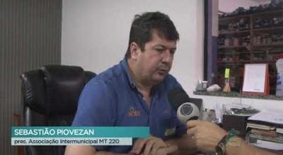 MT 220 TEVE SUA OBRA DE REVITALIZAÇÃO E MANUTENÇÃO LEILOADA