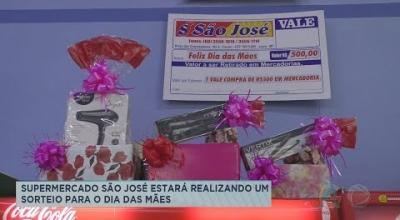 SUPERMERCADO SÃO JOSÉ ESTARÁ REALIZANDO UM SORTEIO PARA O DIA DAS MÃES