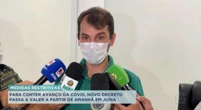 PARA CONTER AVANÇO DA COVID, NOVO DECRETO PASSA A VALER A PARTIR DE AMANHÃ EM JUÍNA