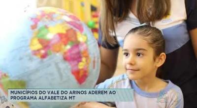 MUNICÍPIOS DO VALE DO ARINOS ADEREM AO PROGRAMA ALFABETIZA MT