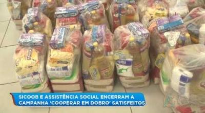 ENCERRAMENTO DA CAMPANHA 'COOPERAR EM DOBRO' UMA PARCERIA DO SICOOB E ASSISTÊNCIA SOCIAL DE JUARA