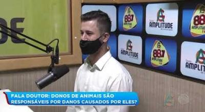 FALA DOUTOR: DONOS DE ANIMAIS SÃO RESPONSÁVEIS POR DANOS CAUSADOS POR ELES