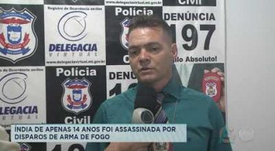 ÍNDIA DE APENAS 14 ANOS FOI ASSASSINADA POR DISPAROS DE ARMA DE FOGO