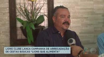 """LIONS CLUBE LANÇA CAMPANHA DE ARRECADAÇÃO DE CESTAS BÁSICAS """"LIONS QUE ALIMENTA"""""""