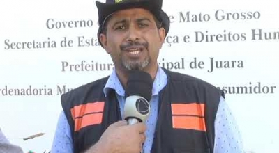 NOSSA ÁGUA MAURO SÉRGIO FALA DA FISCALIZAÇÃO DAS OBRAS REALIZADAS EM ÁREA DE PRESERVAÇÃO PERMANENTE
