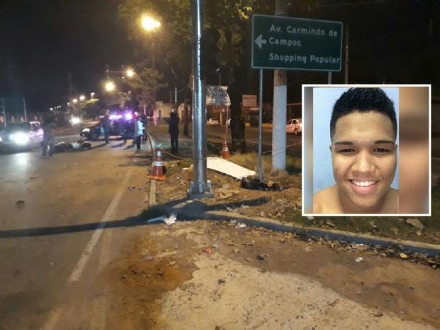 70e38eba8ed Amplitude News - Soldado do Exército morre em acidente de moto na avenida  Beira Rio